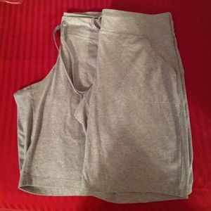 2 pair danskin now gray shorts euc 2x